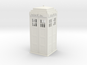 Tardis in White Strong & Flexible