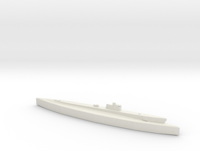 USS Tautog (Tambor Class) 1/1800 in White Natural Versatile Plastic