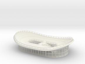 miniNL Bike Pavilion(1:200) in White Natural Versatile Plastic