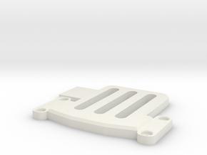 BMGimbal/DSLR_Camplate_sidemount_v2 in White Natural Versatile Plastic