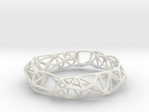 Osseous Bracelet in White Strong & Flexible