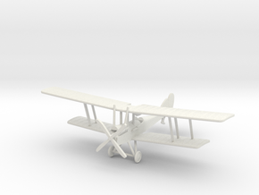 RAF B.E.12a 1:144th Scale in White Natural Versatile Plastic