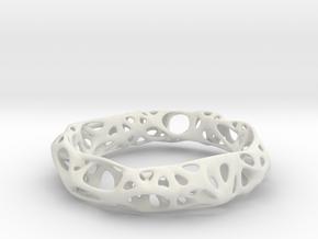 Osseous Bracelet Dense in White Strong & Flexible