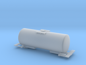Acid Tank Car - Zscale in Smooth Fine Detail Plastic