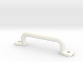 18mm Handle in White Processed Versatile Plastic
