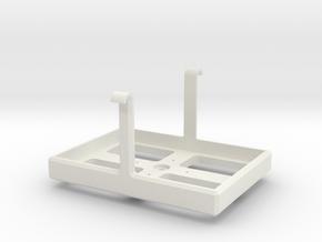 Gopro Gyrocam Bracket in White Natural Versatile Plastic