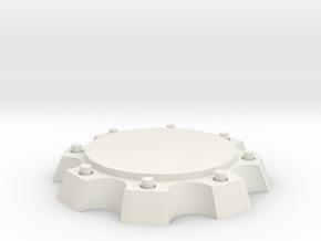 Figure Base 1 X2 Scale in White Natural Versatile Plastic