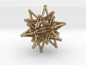Tessa1 StarCore 2-2cm in Polished Gold Steel