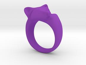 Fox Ring in Purple Processed Versatile Plastic: 5 / 49