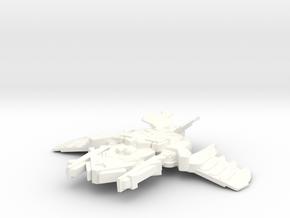 Krah'Gok in White Processed Versatile Plastic