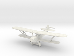 1/100 Polikarpov R-5 in White Natural Versatile Plastic