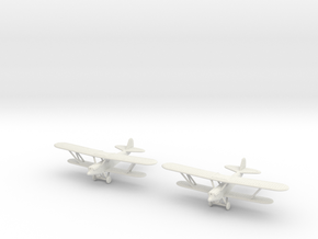1/200 Polikarpov R-5 (x2) in White Natural Versatile Plastic