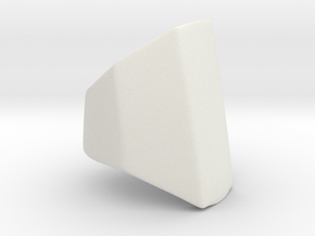 Iron Man mkIII - Middle-base in White Natural Versatile Plastic