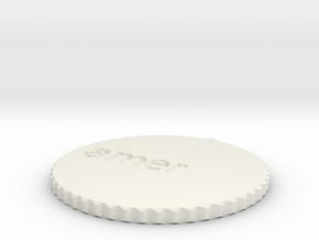 by kelecrea, engraved: amer in White Natural Versatile Plastic