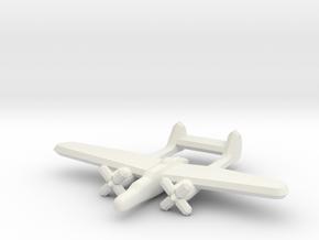 P-61 Blackwidow 1:900 in White Natural Versatile Plastic
