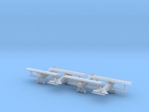 1/144 Fokker D.VII x4 in Smooth Fine Detail Plastic