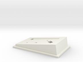 Wandrè Electric Box 3 Forato in White Natural Versatile Plastic