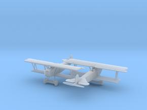 1/144 Fokker D VII x2 in Smooth Fine Detail Plastic
