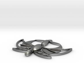 "1"" Princess Tutu Pendant in Polished Silver"