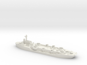 LCF-4 1/700 Scale in White Natural Versatile Plastic