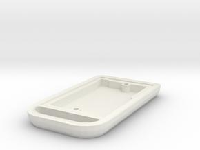 94 Supra Key Fob - Bottom in White Natural Versatile Plastic