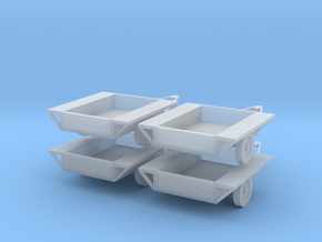 Car Trailers 1:120 in Frosted Ultra Detail