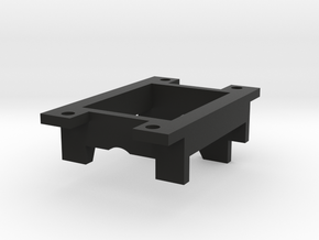 HO Bachmann Style Motor Mount  in Black Strong & Flexible