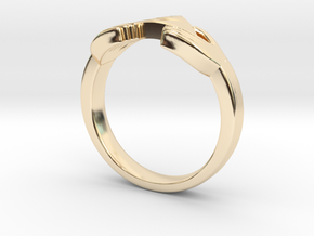 The Legend of Zelda Triforce Ring  in 14K Gold