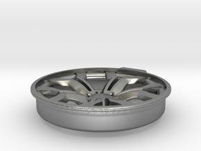Anhaenger R8 Wheel D20 Tessellation.1 1 in Raw Silver
