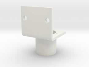 Sensor Bracket for Parallax PIR sensor in White Natural Versatile Plastic