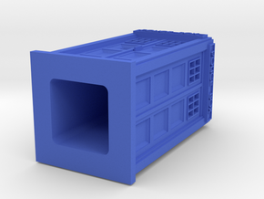 TARDIS in Blue Processed Versatile Plastic