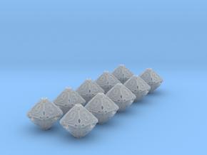 Premier 10d10 Dice Set in Smooth Fine Detail Plastic