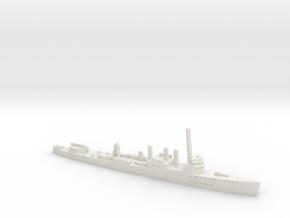 HMS Campbeltown 1:1800 in White Natural Versatile Plastic