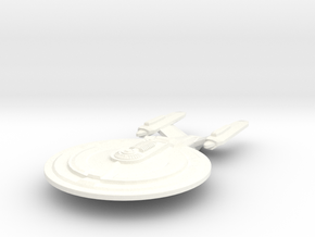 USS Fenlon in White Strong & Flexible Polished