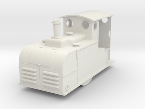 1:32  Ruston Proctor Oil loco in White Natural Versatile Plastic