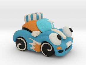 Circus Car in Full Color Sandstone