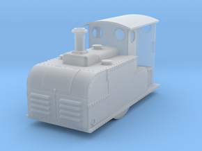 009 Ruston Proctor Oil loco in Smooth Fine Detail Plastic
