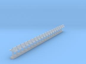 Unterlegkeil-Griffmulden 20x in Smooth Fine Detail Plastic