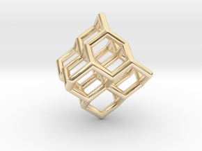 Diamond structure (tiny) in 14K Yellow Gold