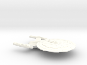 USS Constable in White Strong & Flexible Polished