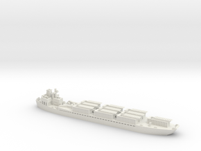 LCT(3)R 1/700 Scale in White Natural Versatile Plastic