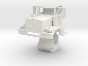 C500 Kenworth in White Natural Versatile Plastic