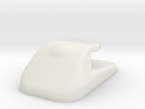 Handswitch Hookrevcmirroredmesh in White Natural Versatile Plastic
