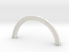 Loopingteil-ROT-oben.stl in White Natural Versatile Plastic