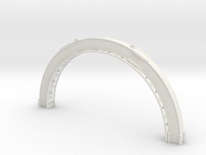 Looping-blau-oben.stl in White Natural Versatile Plastic