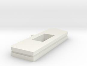 Handrail Jig HOn30 in White Natural Versatile Plastic