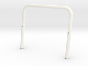 SR40002 Beach Buggy Classic Roll Bar in White Processed Versatile Plastic