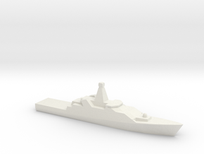 [RNLN] Holland Class 1:3000 in White Natural Versatile Plastic