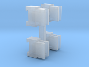Coupeling Cluster For Tomytec in Smooth Fine Detail Plastic