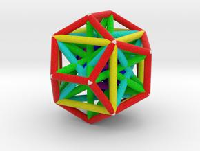MorphoHedron10 in Full Color Sandstone